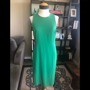 Ann Taylor Dress Green NWT size 6
